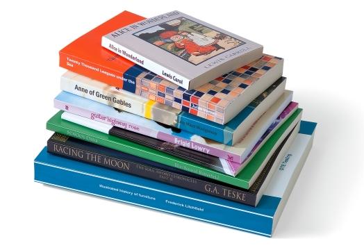 Impresión de libros en pequeñas tiradas para empresas, editoriales, negocios y autores.