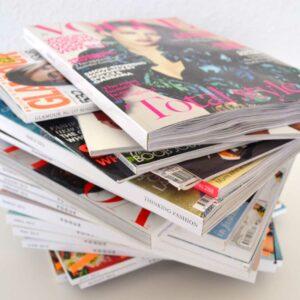 Impresión de magazines y revistas para empresas.