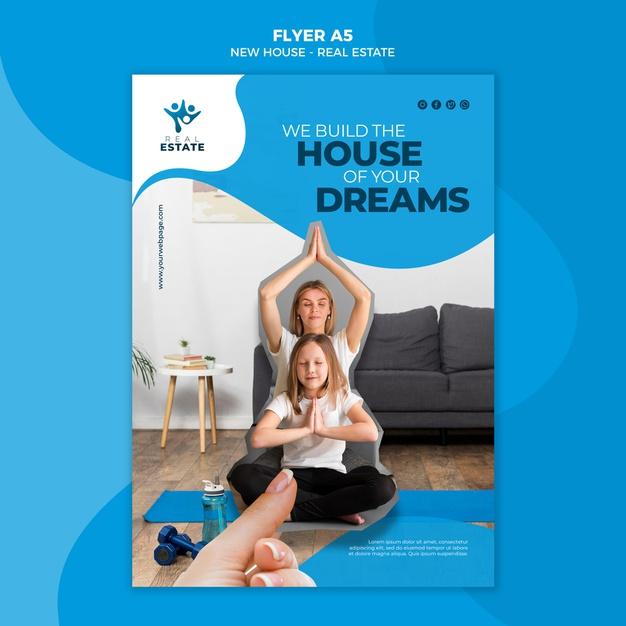 flyers compraventa casas