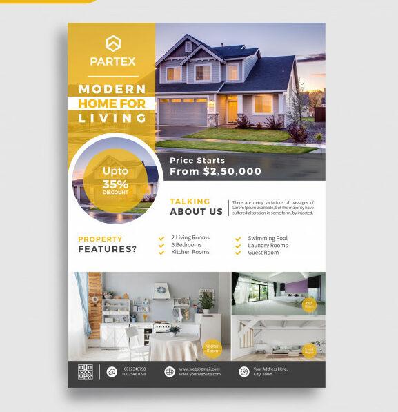 impresión de flyers inmobiliarias
