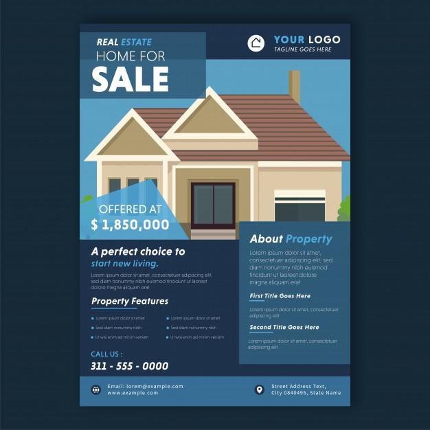 folletos de inmobiliarias