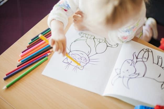 libros para colorear infantiles