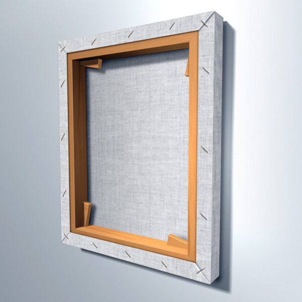 Lienzo impreso en bastidor de madera