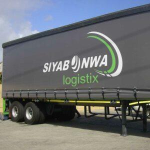 Impresión de lona para camión. Realizadas en PVC de alta calidad y resistencia.