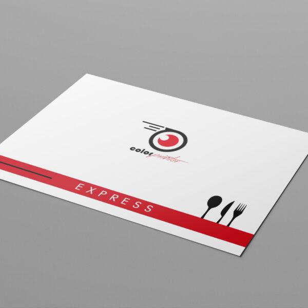 manteles de papel con impresión y envio express