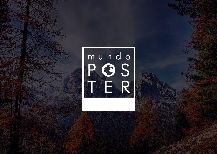 diseño grafico logotipo mundoposter