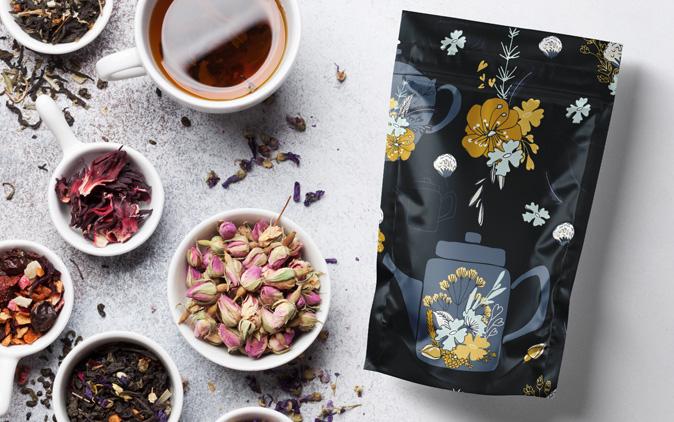 packaging para cafe o packaging de té