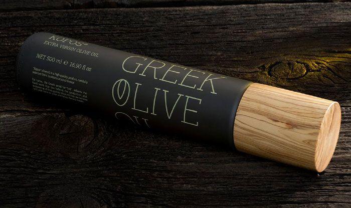 Impresión madera packaging aceite