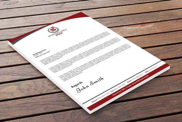 Papel de carta reciclado personalizado para empresas y profesionales que quieren marcar la diferencia.