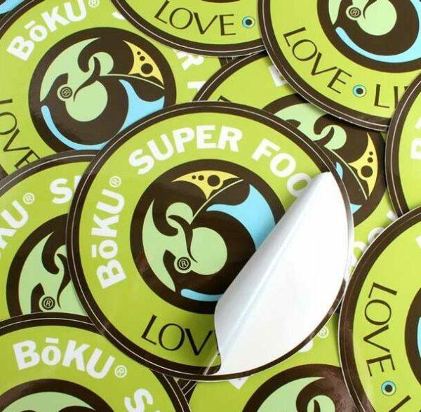 Imprimir pegatinas redondas o circulares en grandes cantidades para empresas y negocios.