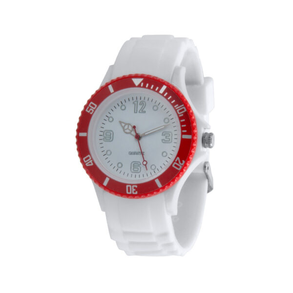reloj de pulsera publicidad