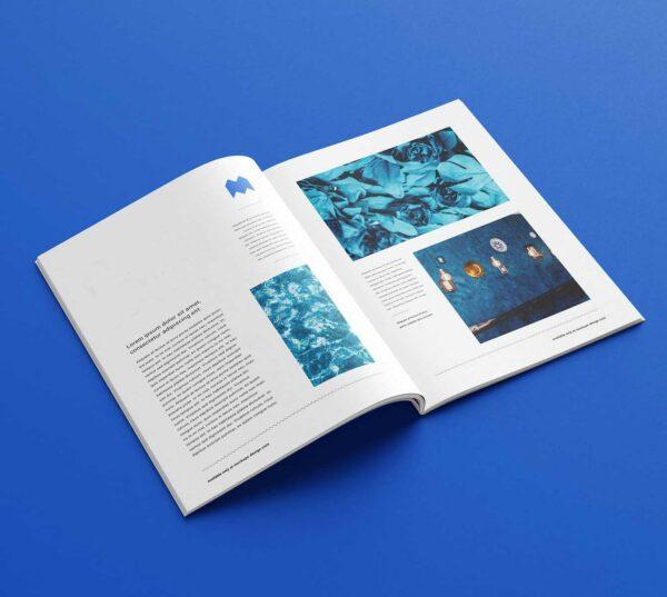 Impresión de revistas A4 para empresa y negocios, de la más alta calidad.