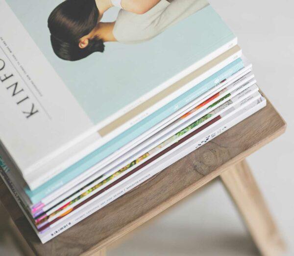 Impresión de revistas A5 de alta calidad para todo tipo de negocio y profesionales.