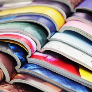 Impresión de revistas encuadernadas de alta calidad para editoriales y empresas.