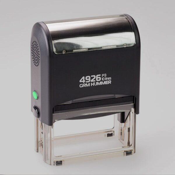 Sellos automáticos urgentes con entrega a domicilio en tiempo record. Recibe tu sello automático en sólo 24/48 horas