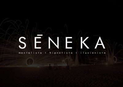 diseño grafico logotipo seneka