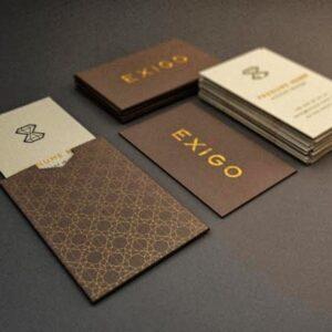 Sobres para tarjetas personalizados, de alta calidad, para guardar tarjetas de visita.