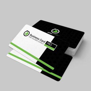 tarjetas de visita laminadas