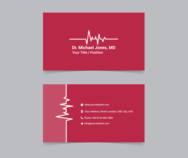 tarjetas de presentacion medicina