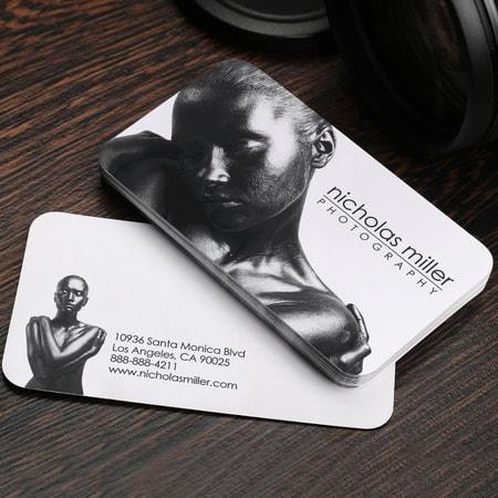 tarjetas traslucidas impresas