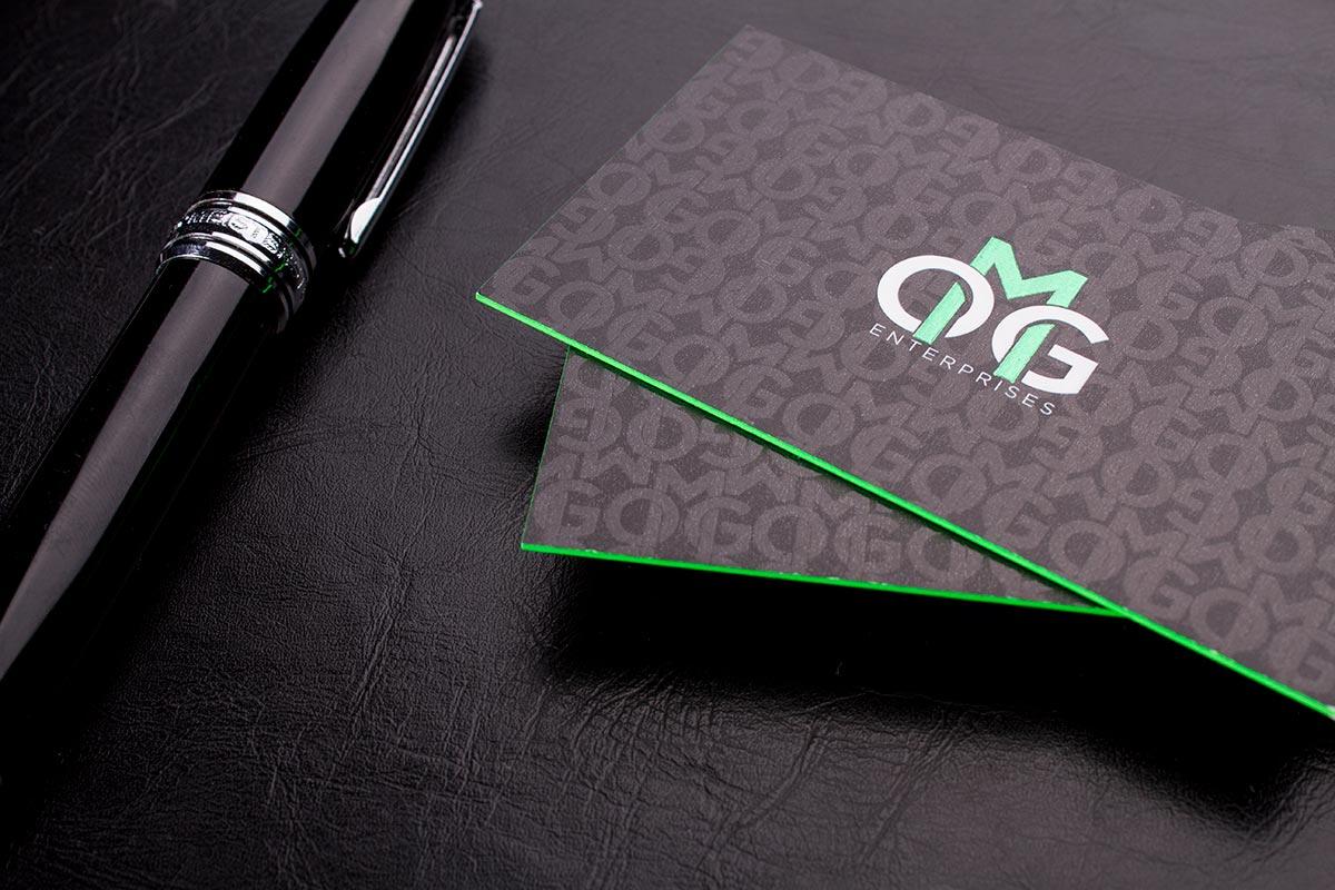 Tarjetas de visita con acabados especiales de todo tipo para empresas y negocios.