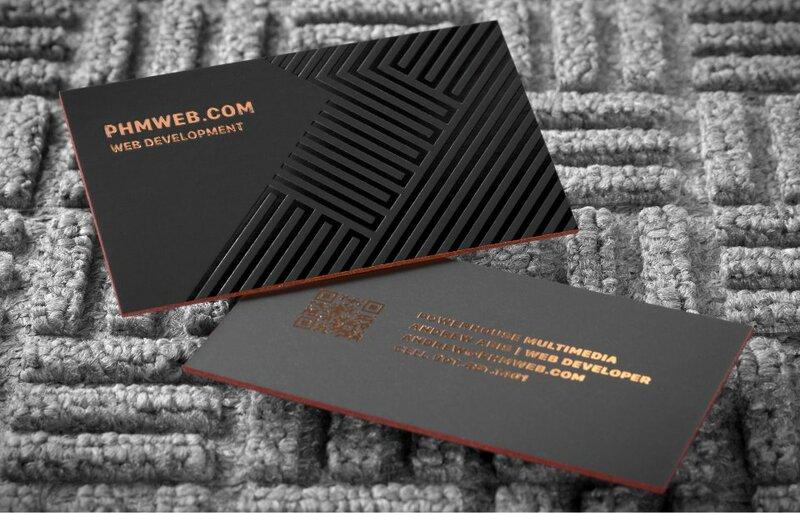 Tarjetas de visita para empresas, negocios y profesionales de todo tipo.