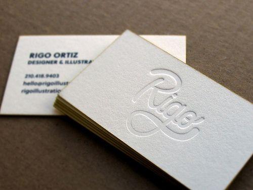 Tarjetas de visita especiales para negocios, empresas y profesionales.
