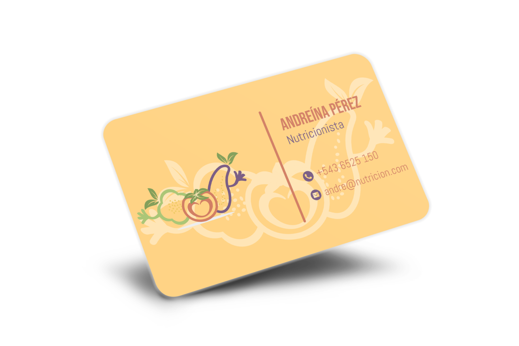 tarjetas de visita dietista