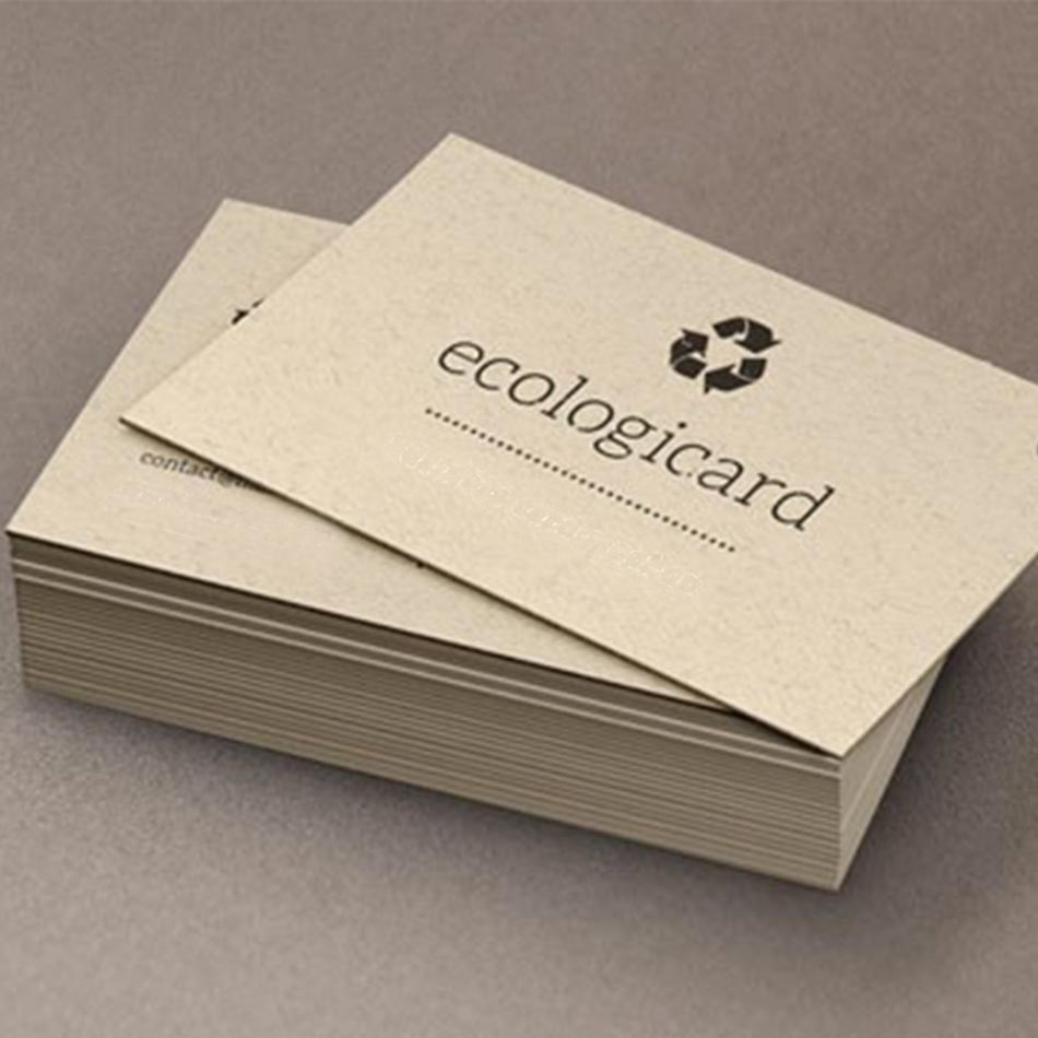tarjetas de visita papel reciclado ecológicas