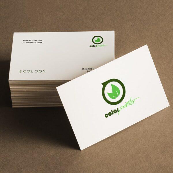 tarjetas carton reciclado. Imprimir tarjetas ecológicas